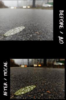 Пример обработки фотографии сделанной на обычный а