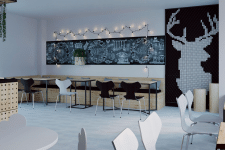 "Дизайн итнерьера кофейни ""Rest&coffee"""