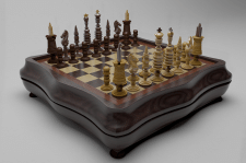 Визуализация шахмат
