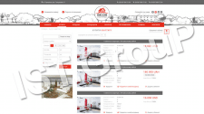 Сайт агентства недвижимости vison.com.ua