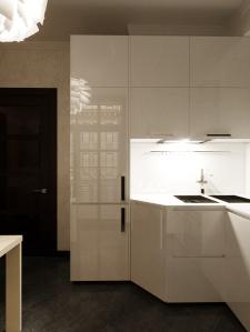 Дизайн и визуализация кухни для квартиры в Одессе.