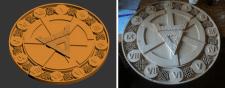 3D-модель часов в кельтском стиле
