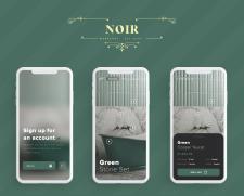 Design mobail app interior