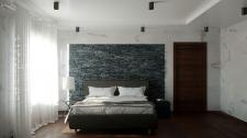 Спальня в стиле лофт!