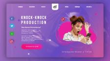 Сайт продакшн студии