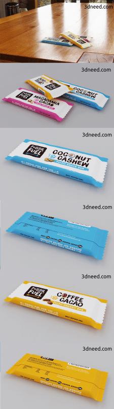3d упаковка питательного батончика