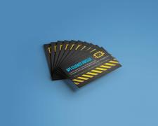 Вёрстка визитки