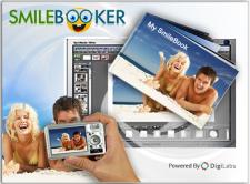 Заставка программы создания фотокниг  vizitka.com