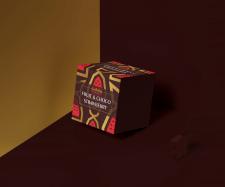 """дизайн упаковки конфет """"Клубника в шоколаде"""""""