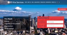 Корпоративный сайт для визового центра