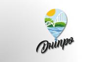 Конкурсная работа логотип города Днепр