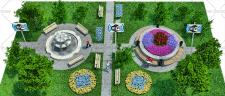 3D изображение: организация WI-FI зоны в парках