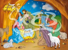 Пазлы для детей на христианскую тематику