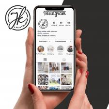 Лого-аватарка для сторінки в інстаграмі