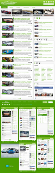 Журнал Ecoconceptcars на CMS WordPress