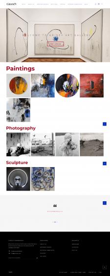 Маркетплейс галереи искусств