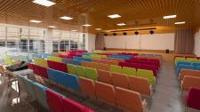 Дизайн интерьера актового зала музыкальной школы