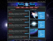 WEB Сайт продажи звезд и планет