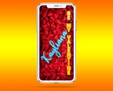 Свой Мокап iPhone-X с конструктором поздравлений