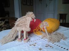 Іграшки з ниток