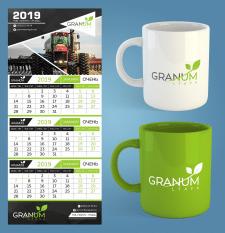 """Лого и календарь для компании """"Гранум Лтава"""""""