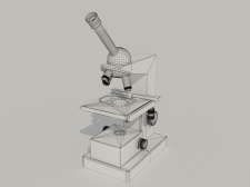 Модель микроскопа