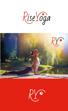 Логотип для проекта йоги