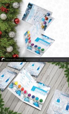 Дизайн буклета для рекламы печати на шарах