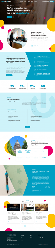 Разработка сайта Wordpress