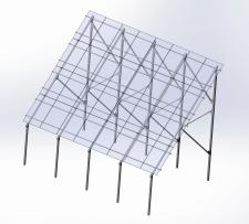 Каркас для солнечных панелей