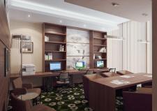 """Визуализация гостиницы """"Hampton by Hilton"""""""