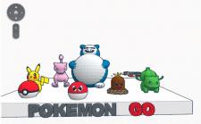 3D модель Pokémon