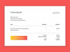 Дизайн электронной квитанции