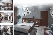 Розробка та візуалізація дизайну спальні в м.Рівне