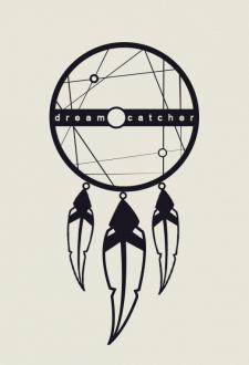 dreamcatcher Логотип для Кафе