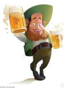 гном с пивом