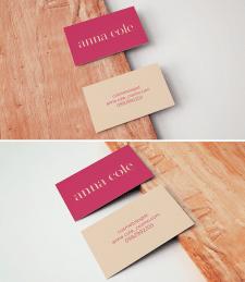 Персональная визитка для сферы услуг красоты