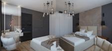 Спальня с элементами лофт