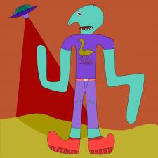 НЛО Иллюстрация