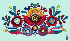 "embroidery design "" Квітки"""