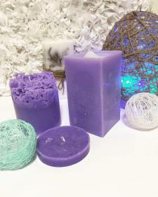 Эксклюзивные свечи ручной работы