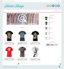 """Интернет магазин """"Shirt Shop"""""""