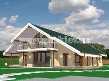 """Загородний жилой дом """"Ilantra"""" (250 м2)"""