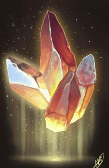 Арт кристалла