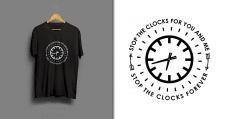 "Принт ""Clocks"""