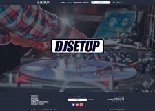Эскиз сайта сообщества DJSETUP