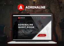 Adrenaline - Quest-room site redesign