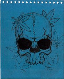 JAH skull