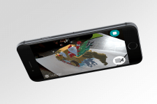 AR приложение интерактивная открытка.