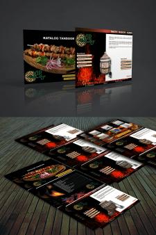 Дизайн-верстка каталога по продаже тандыров